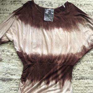 Young Fabulous & Broke tie dye S size dress